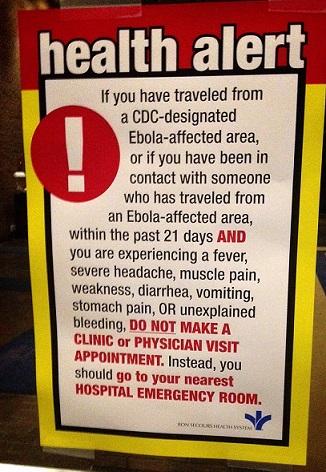 Ebola => ER