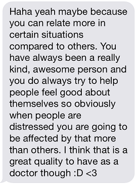 Rachel rationalized it for me and I'm feel somewhat less pathetic. <3