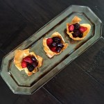 Three Berry Tartlets
