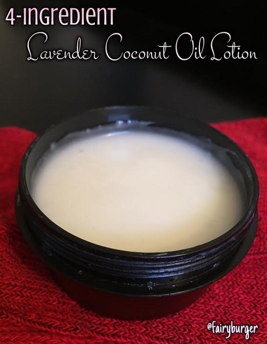 lavender coconut oil lotion