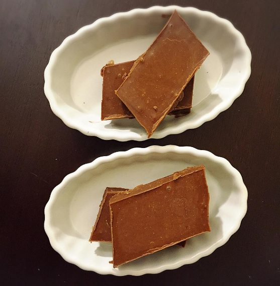 3 Ingredient Chocolate Peanut Butter Fudge