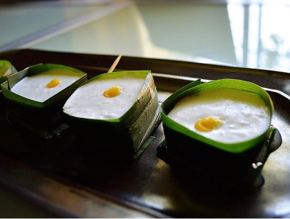 Thai Coconut Sago Pudding