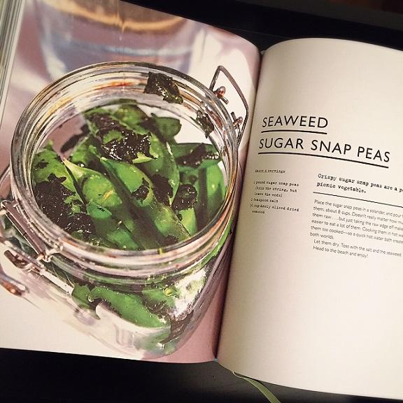 4-Ingredient Seaweed Sugar Snap Peas   @fairyburger