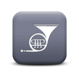 119456 matte grey square icon media music tuba1 - horn-icon
