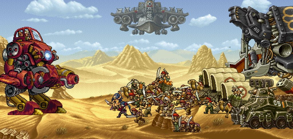 metal slug attack    el gigante dorado appears     by apr01 dezkan dbqlq61 fullview - 【修改版】越南大戰進攻 v3.23.0 AP不減反增