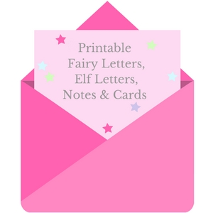 free printable fairy letters