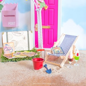 summer holiday fairy door accessory set uk