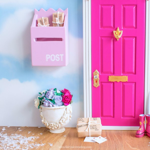 pink fairy door uk