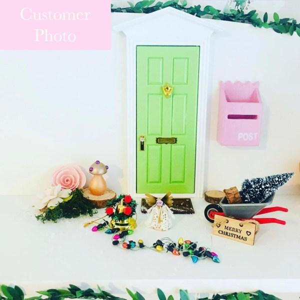 customer photo green fairy door