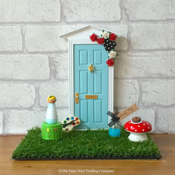 Alice in Wonderland Magic Door and accessory set