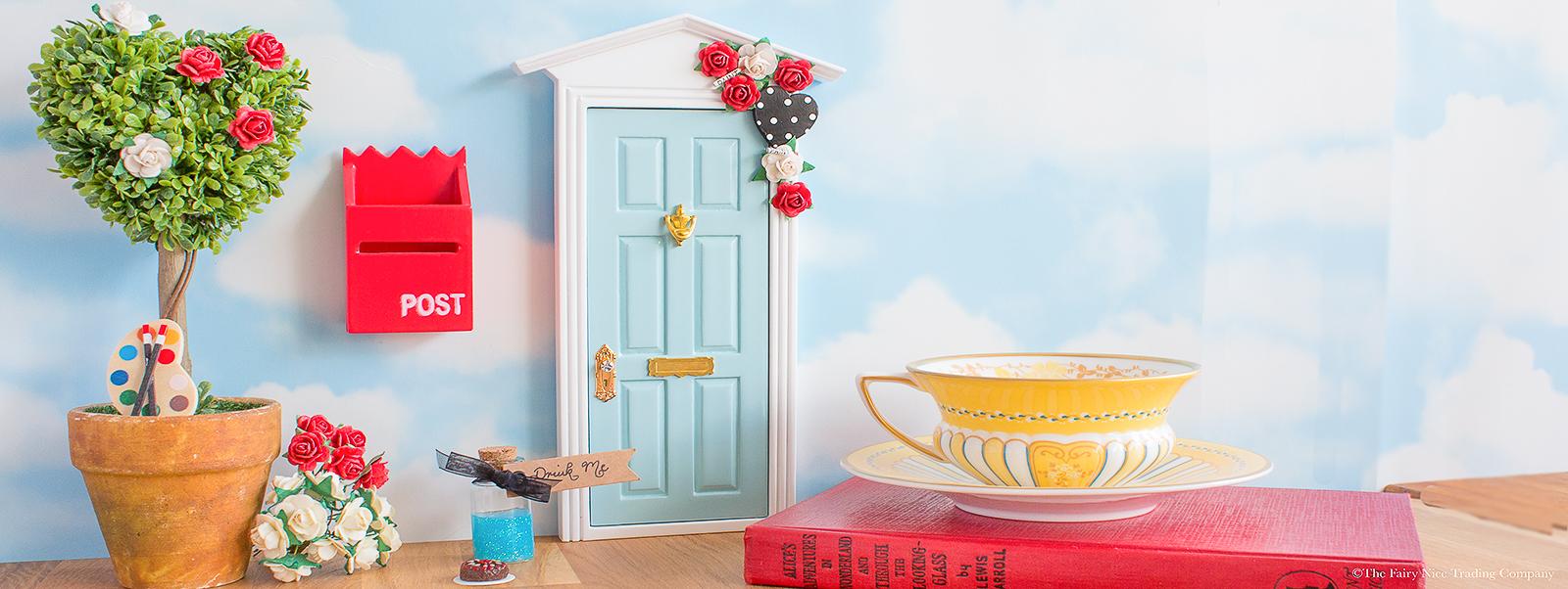 Alice in Wonderland Fairy Door uk