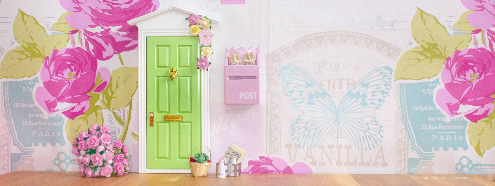 Beautiful Fairy Door with Fairy Door accessories
