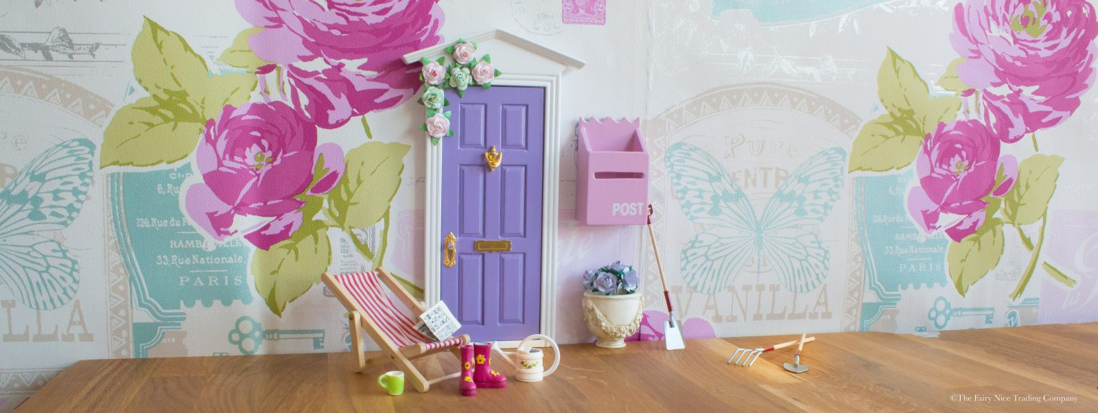 New purple Fairy Door UK