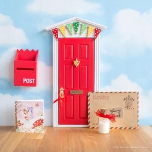 Red Fairy Doors