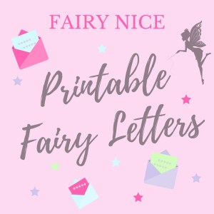 Printable Fairy Letters