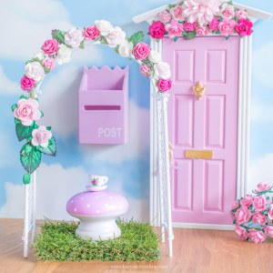 Fairy Door Flower Arches