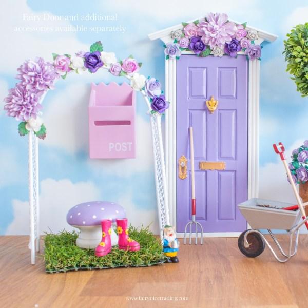 flower arch for fairy gardens uk