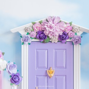 Fairy Doors with flowers