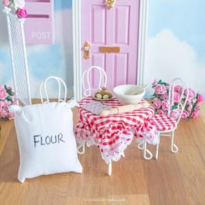 Fairy baking accessory set for fairy doors uk