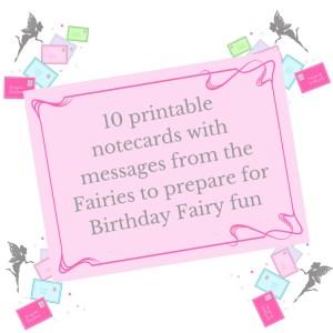 printable birthday fairy letters
