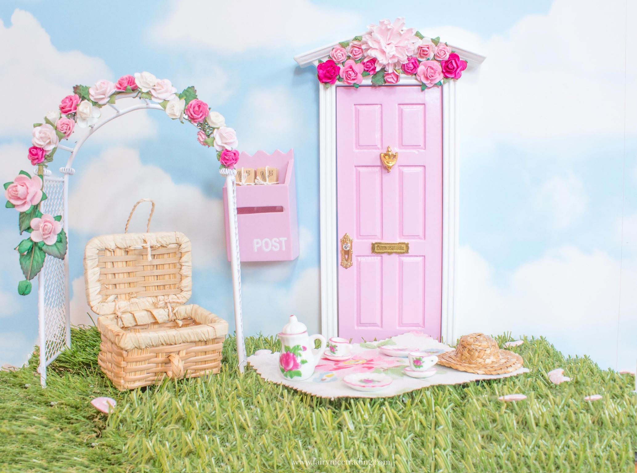 Fairy tea set for Fairy Doors UK