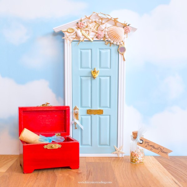 Mermaid Fairy Door UK