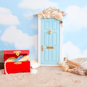 Mermaid Fairy Door UK