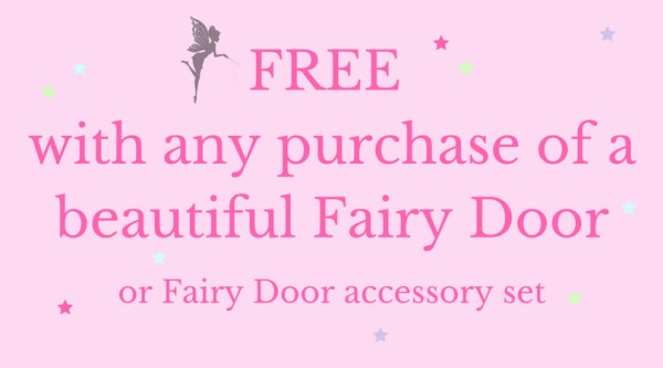 free with a fairy door purchase