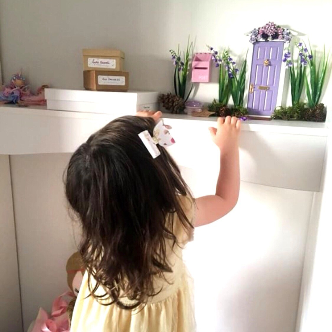 finding the fairy door from The Fairy Nice Trading Company