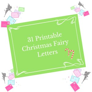 printable christmas fairy letters for fairy doors