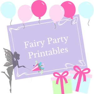 Fairy Party printables