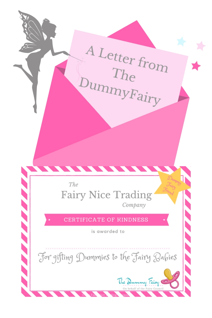 Free Printable Dummy Fairy Letter The Fairy Nice Trading Company