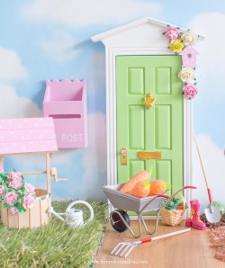 easter fairy door personalised