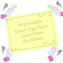 printable easter egg hunt clues