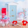 the cat in the hat fairy door scene