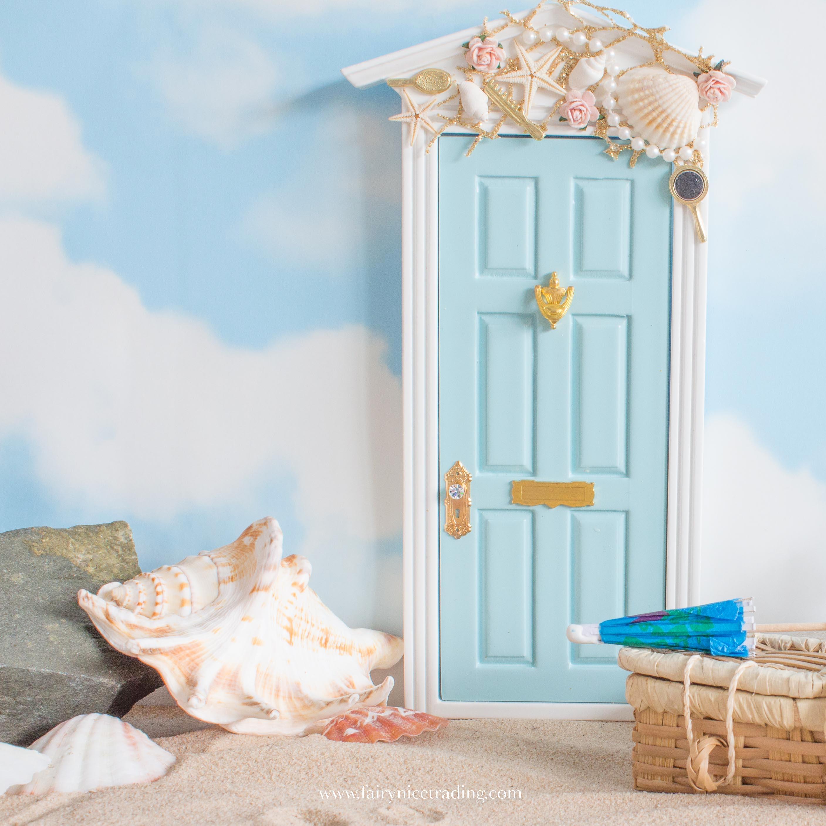 mermaid fairy door for summer
