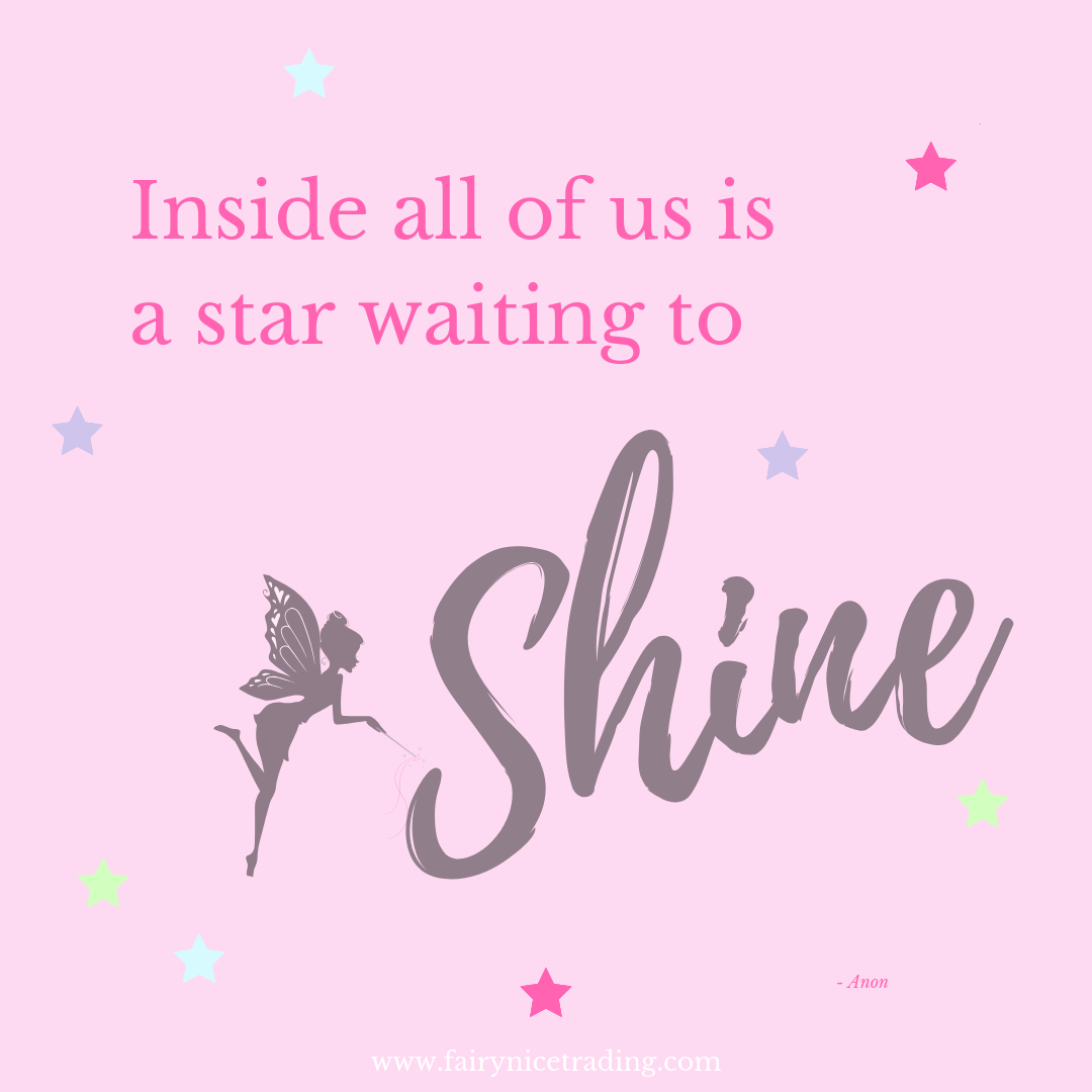 inside all of us is a star waiting to shine