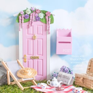 Wisteria Wishes Fairy Door in pink