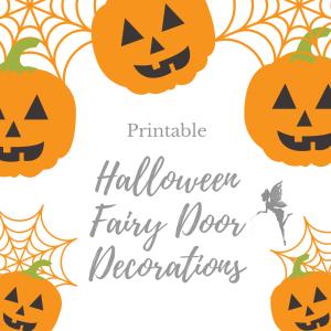 halloween fairy door decorations