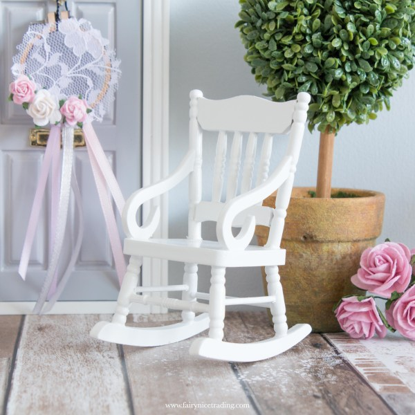 miniature rocking chair for fairy doors