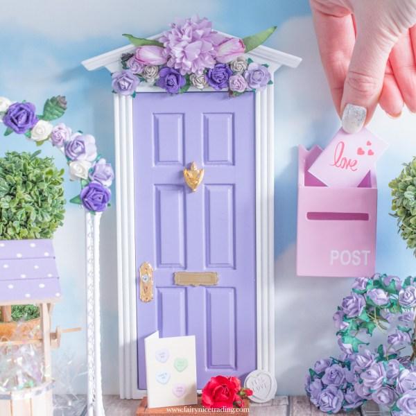purple fairy door