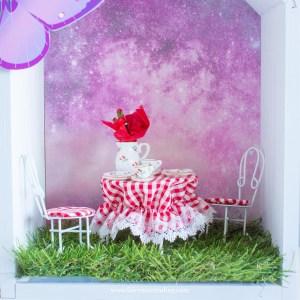 fairy door tea set