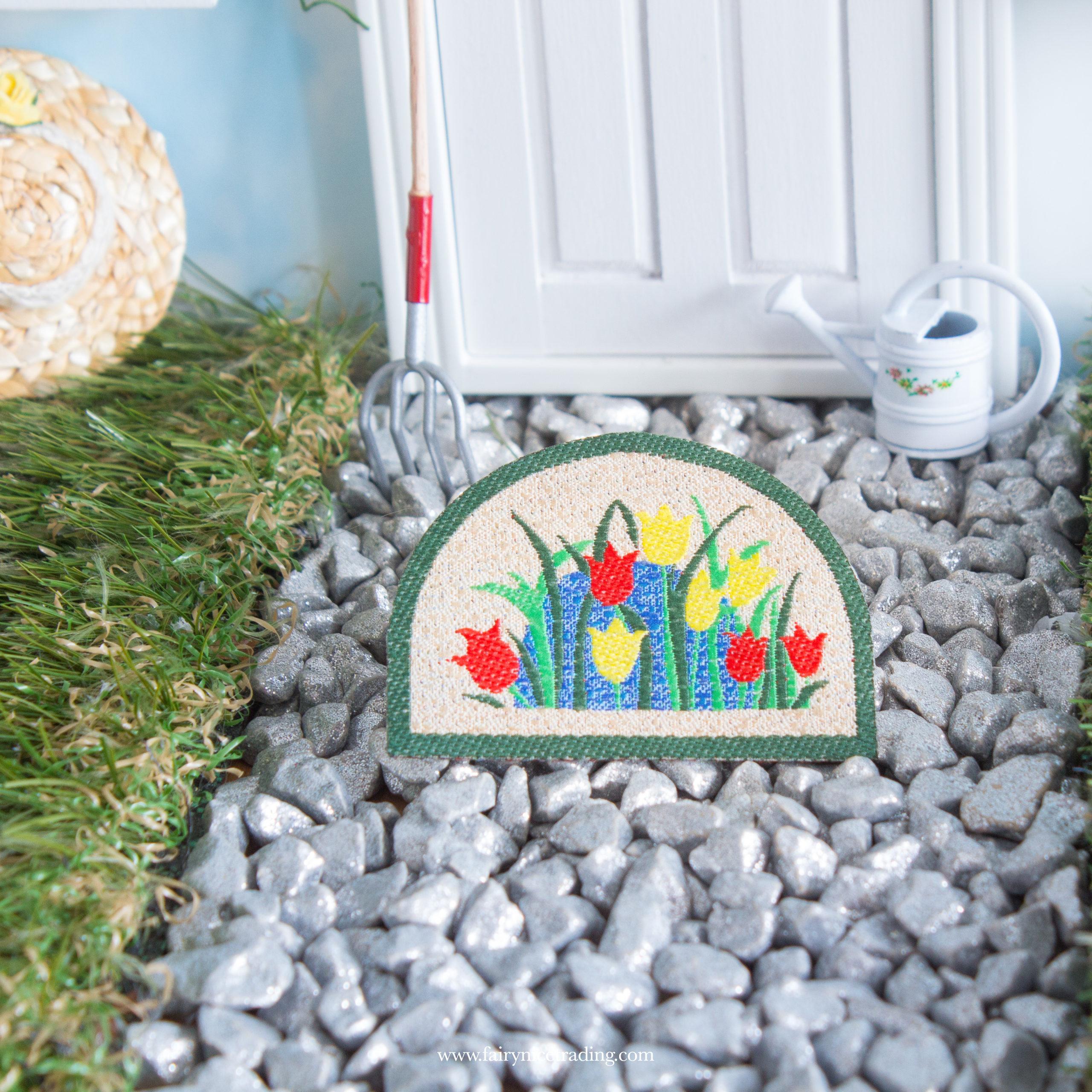 fairy door mat