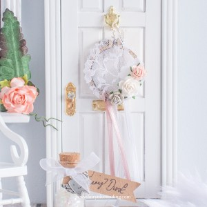 Fairy Dreamcatcher in blush pink