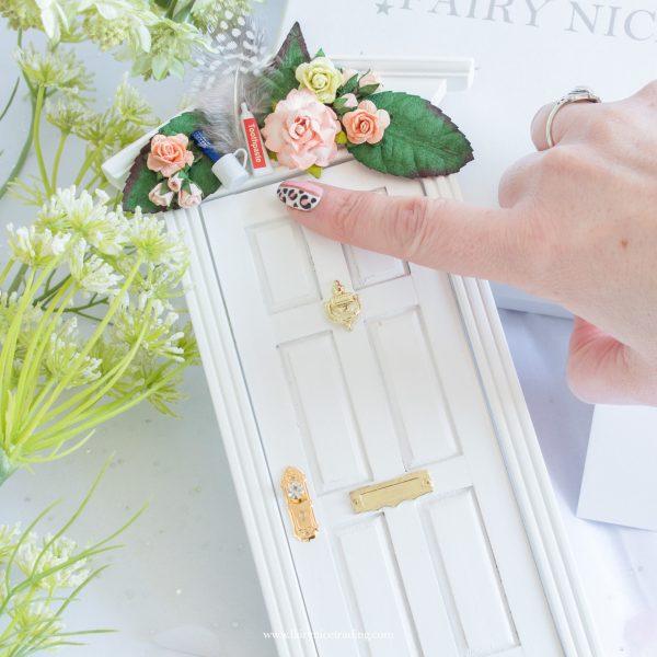 luxury white tooth fairy door