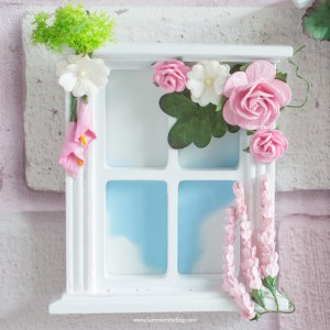 pink fairy window
