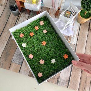 fairy grass mat