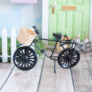 black miniature fairy bike
