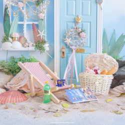Miniature picnic set for fairy doors uk