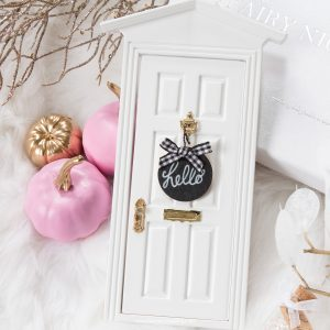 fairy door sign